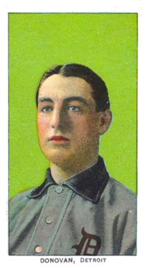 1909 White Borders (Piedmont & Sweet Caporal) Wild Bill Donovan #135 Baseball Card