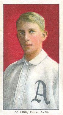 1909 White Borders (Piedmont & Sweet Caporal) Eddie Collins #101 Baseball Card
