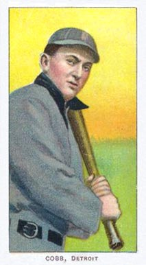 1909 White Borders (Piedmont & Sweet Caporal) Ty Cobb #99 Baseball Card