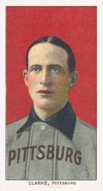 1909 White Borders (Piedmont & Sweet Caporal) Fred Clarke #92 Baseball Card