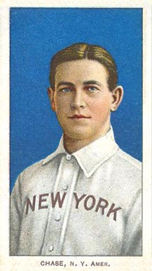 1909 White Borders (Piedmont & Sweet Caporal) Hal Chase #83 Baseball Card