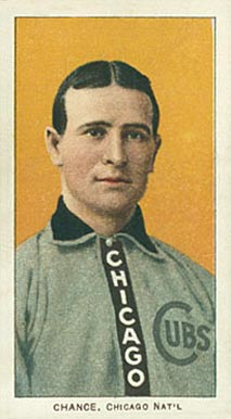 1909 White Borders (Piedmont & Sweet Caporal) Frank Chance #79 Baseball Card