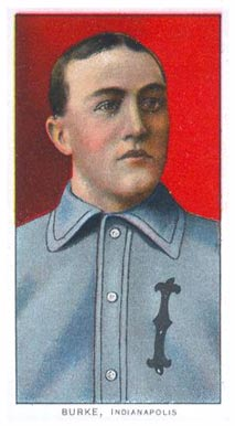1909 White Borders (Piedmont & Sweet Caporal) Jimmy Burke #63 Baseball Card