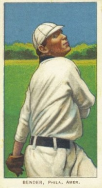 1909 White Borders (Piedmont & Sweet Caporal) Chief Bender #33 Baseball Card