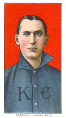 1909 White Borders (Piedmont & Sweet Caporal) Jake Beckley #29 Baseball Card