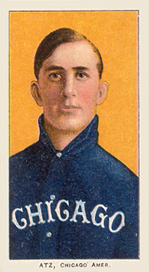1909 White Borders (Piedmont & Sweet Caporal) Jake Atz #14 Baseball Card
