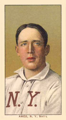 1909 White Borders (Piedmont & Sweet Caporal) Red Ames #9 Baseball Card