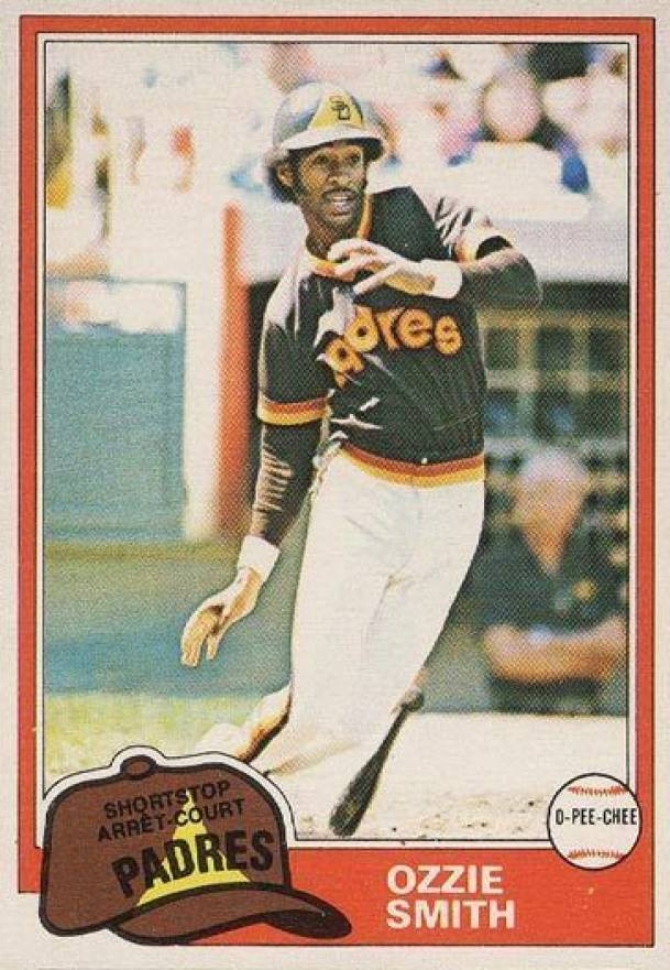 1981 O-Pee-Chee Ozzie Smith #254 Baseball Card