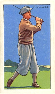 1935 Gallaher Ltd. P. Alliss #33 Boxing & Other Card