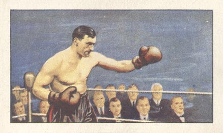 1935 Gallaher Ltd. Primo Carnera #40 Boxing & Other Card