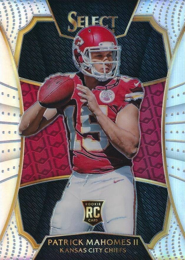 2016 Select '17 NFL Draft XRC Prizm Redemption Patrick Mahomes II #2 Football Card