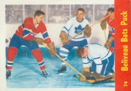 1955 Quaker Oats   #74 Hockey Card
