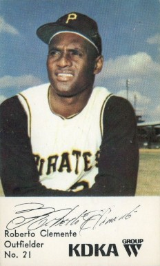 Roberto Clemente Hall Of Fame Baseball Cards