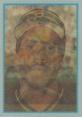 1986 Sportflics Rookies Barry Bonds #13 Baseball Card