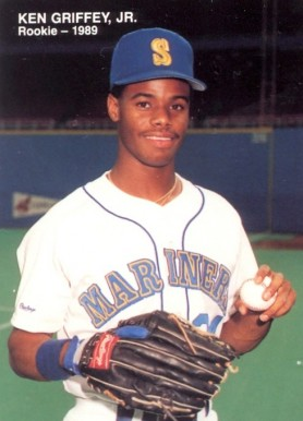 1989 Mother's Cookies Ken Griffey Jr. Ken Griffey Jr. #2 Baseball Card