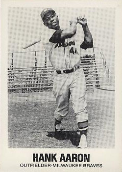 1977 Tcma Renata Galasso Hank Aaron 44 Baseball Vcp Price