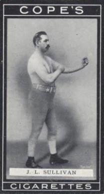 1915 Cope Brothers & Co. Boxers John Sullivan #8 Boxing & Other Card