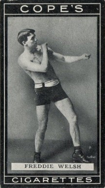 1915 Cope Brothers & Co. Freddie Welsh #18 Boxing & Other Card