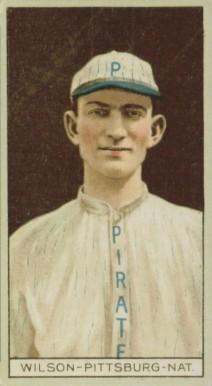 1912 Brown Backgrounds (Common back) Owen Wilson #198 Baseball Card
