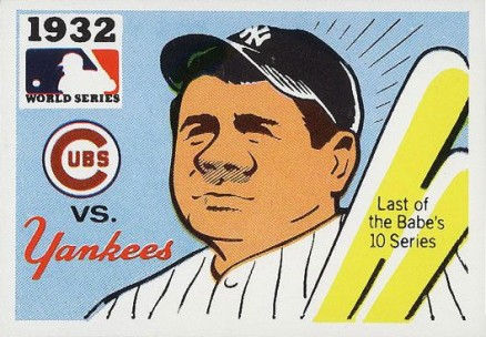 1971 Fleer World Series Cubs vs Yankees #30 Baseball Card
