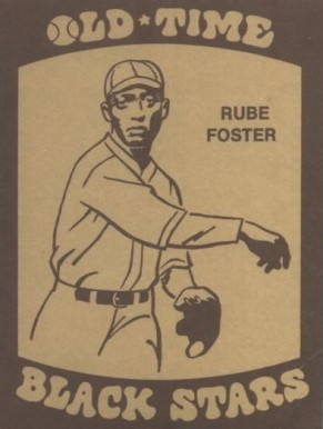 Rube Foster Hall Of Fame Baseball Cards