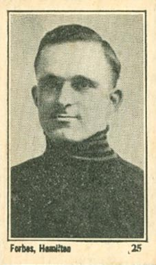 1924 Maple Crispette Vernon Forbes #25 Hockey Card