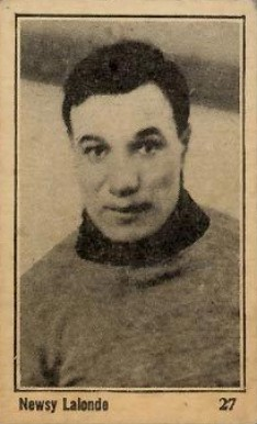1924 Maple Crispette Newsy  Lalonde #27 Hockey Card