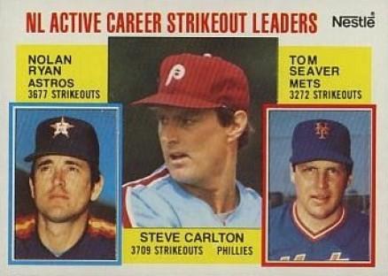 1984 Nestle Baseball Card Set Vcp Price Guide