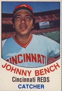 1977 Hostess Johnny Bench 6 Baseball Card Value Price Guide