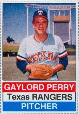 1976 Hostess Gaylord Perry #4 Baseball Card
