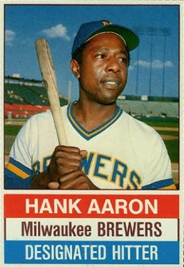1976 Hostess Hank Aaron #94 Baseball Card