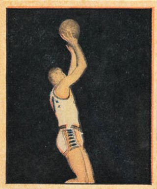 1951 Berk Ross Bill Sharman #4-11 Basketball Card