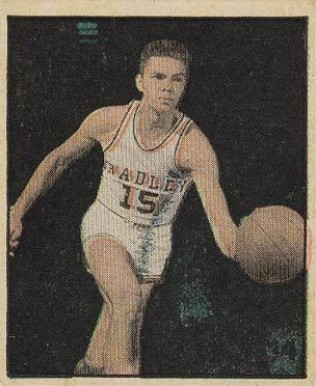 1951 Berk Ross Paul Unruh #3-11 Basketball Card