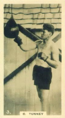 1926 Lambert & Butler Who's Who Gene Tunney #3 Boxing & Other Card
