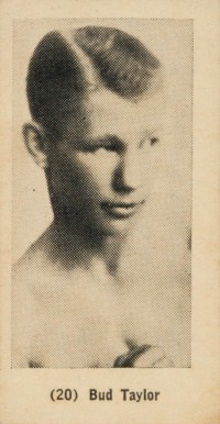 1927 York Caramels Bud Taylor #20 Boxing & Other Card