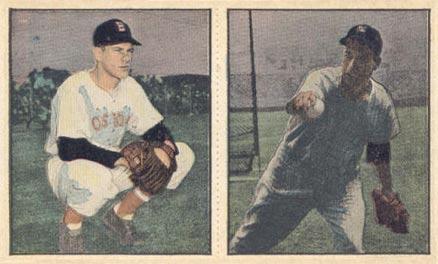 1951 Berk Ross Panel Billy Goodman 3 2 4 Baseball Card