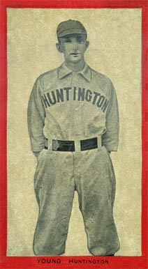 1910 Old Mill Series 4 (Va. Valley League)  Young #47 Baseball Card