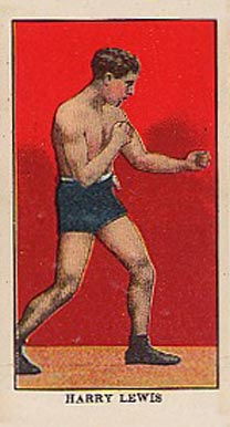 1910 E78 Harry Lewis # Boxing & Other Card
