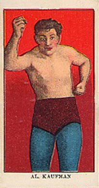 1910 E78 Al Kaufman # Boxing & Other Card