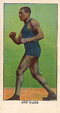 1910 E78 Joe Gans # Boxing & Other Card