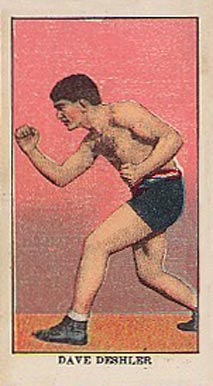 1910 E78 Dave Deshler # Boxing & Other Card
