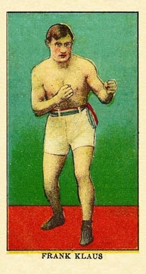 1910 E78 Frank Klaus # Boxing & Other Card