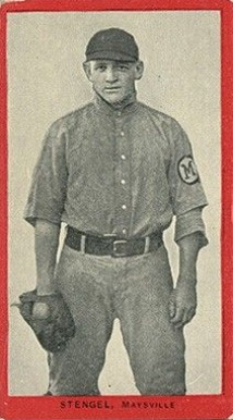 1910 Old Mill Series 6 (Blue Grass League) Casey Stengel #53 Baseball Card