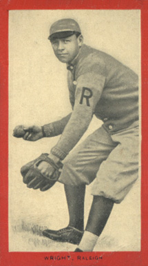 1910 Old Mill Series 7 (E. Carolina League)  Wright #67 Baseball Card