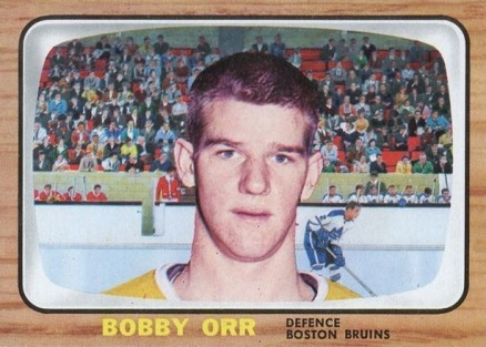 1966 Topps USA Test Bobby Orr #35 Hockey Card