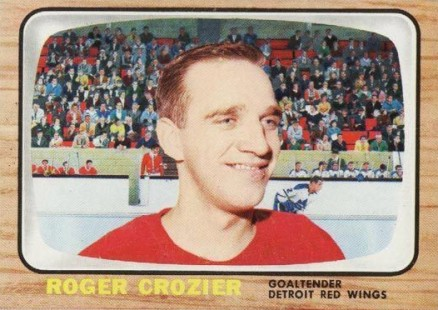 1966 Topps USA Test Roger Crozier #43 Hockey Card