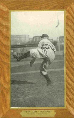1906 Ullman Postcards Joe McGinnity #9 Baseball Card