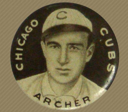 1910-12 Sweet Caporal Pins Jimmy Archer #3S Baseball Card