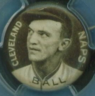 1910-12 Sweet Caporal Pins Neal Ball #6 Baseball Card