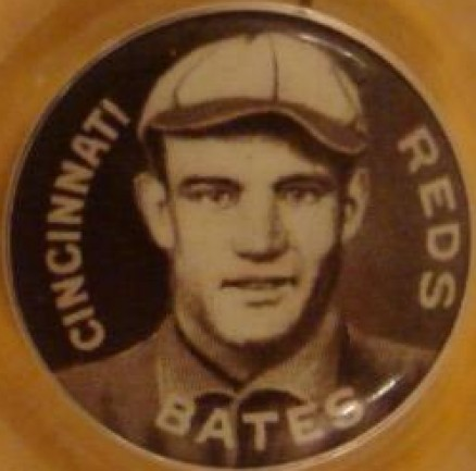 1910 Sweet Caporal Pin Johnny Bates #9 Baseball Card